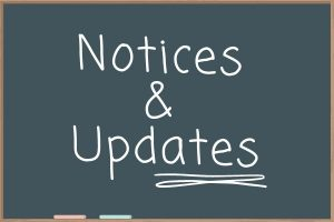 Updates and Notices